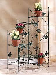 amazon com garden planters multi tiered decor patio corner