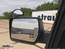 Blind Spot Side Mirror Cipa Top Mounted Blind Spot Mirror Review Video Etrailer Com