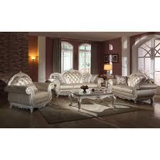 Faux Leather Living Room Set Vintage Sofas For Sale In Sheffield Best Home Furniture Decoration