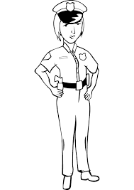 happy police coloring pages book design ki 2211 unknown