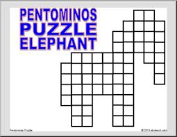 math puzzle pentomino game math grid games printable math