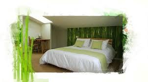 chambre en bambou chambre bambou aux sources d hossegor
