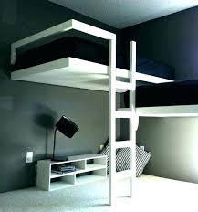 lit mezzanine avec bureau intégré lit sureleve avec bureau lit mezzanine bureau pour ado superpose pas