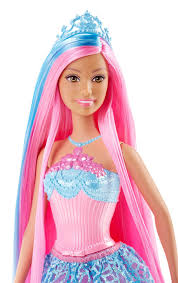 barbie endless hair kingdom princess doll blue target