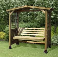 wooden garden swing bench plans diy woodworking projects