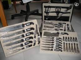 malette de couteaux de cuisine pas cher mallette couteaux professionnels bischofs solingen occasion