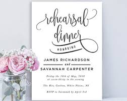 rehearsal dinner invite printable rehearsal dinner invitations kawaiitheo