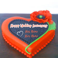 Wedding Wishes Cake Happy Wedding Anniversary Wishes Names Cake Image