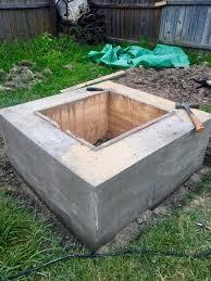 Concrete Firepits How To Make A Concrete Pit Hometalk