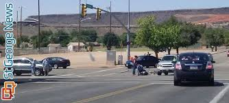 what is considered running a red light cyclist injured cited after running red light st george news