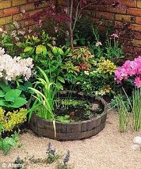 Mini Water Garden Ideas Small Wildlife Pond Can T You Just Picture A Frog Moving