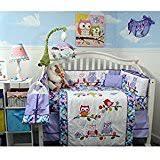 Teal And Purple Crib Bedding Amazon Com Purple Bedding Sets Crib Bedding Baby Products