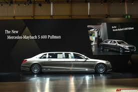 mercedes maybach 2015 geneva 2015 mercedes maybach pullman gtspirit