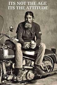 Biker Meme - biker meme it s not the age it s the attitude born to ride