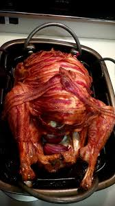 it s thanksgiving in canada i give you my bacon turkey
