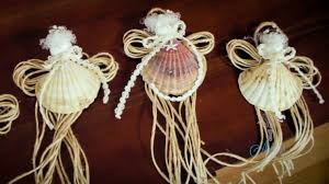 arts and crafts tutorial how to make seashell fairy christmas