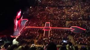 Floor Plan O2 Arena London by Madonna Rebel Heart Tour Block 403 Row Q Arena O2 London Youtube
