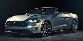 2018 ford mustang facelift now the soft top u0027s turn