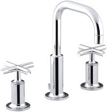 kohler k 14406 3 cp purist widespread lavatory faucet with low