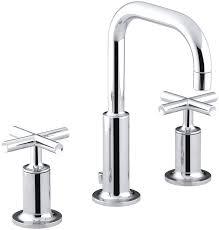 Kohler Faucets Kitchen Kohler K 14406 3 Bgd Purist Widespread Bathroom Sink Faucet With