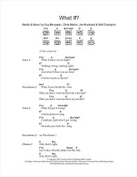 coldplay what if what if sheet music by coldplay lyrics chords 101842