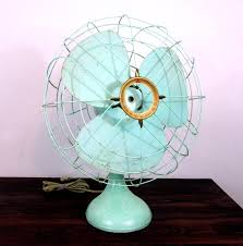 reserved for kfasy11 vintage teal electric table fan by reserved for kfasy11 vintage teal electric table fan by mitsubishi mid century home decor