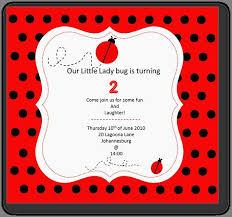 ladybug invitation template festa infantil pinterest festa