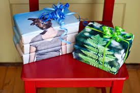 in wrapping paper diy photo wrapping paper wrap gifts in your own photos
