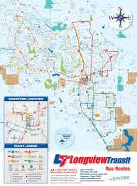 Kilgore Texas Map Longview Transit Fixed Routs Maps