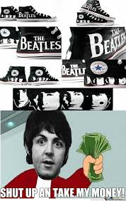 Beatles Memes - beatles shoes 2 by santicapo meme center