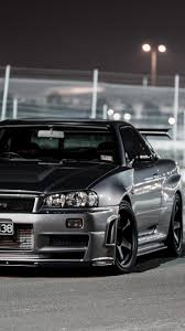 skyline wagon simplywallpapers com nissan skyline r34 gt r cars front angle