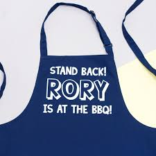 Personalized Mens Aprons Personalised Bbq Apron Gifts For Him Gifts For Dad Apron