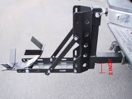 Tire Rack Motorcycle Amazon Com Tms 800 Lbs Motorcycle Trailer Hitch Carrier Hauler