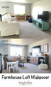 Farmhouse Loft Makeover Lofts Playrooms And Room