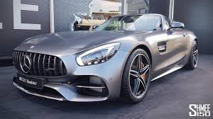 finally found the mercedes amg gt c roadster youtube