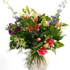 country garden flower bouquet designed by award winning florists