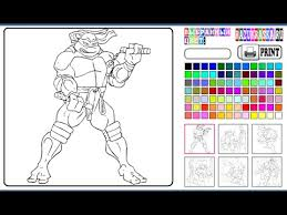 ninja turtles coloring pages kids ninja turtles coloring