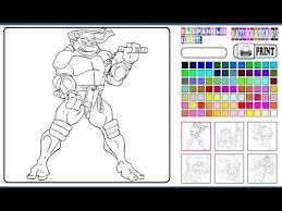 ninja turtles coloring pages for kids ninja turtles coloring