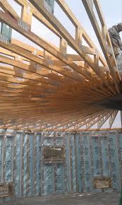 first floor trusses deltec house construction pinterest roof