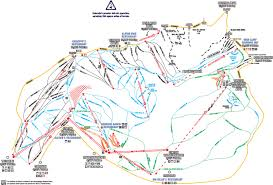 Ski Resorts In Colorado Map by Telluride Skimap Org