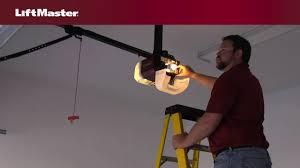 liftmaster jackshaft garage door opener how to program travel on liftmaster security 2 0 garage door