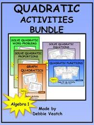 quadratics keywords poster word problems high and algebra