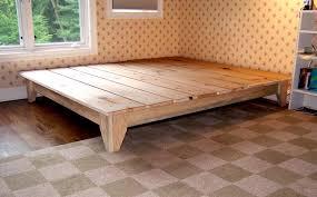 environment furniture luxury reclaimed wood platform bed beautiful