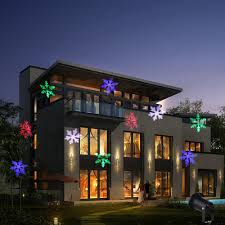 Laser Christmas Lights Projectors by Christmas Lights Outdoor Led Snowflake Projector