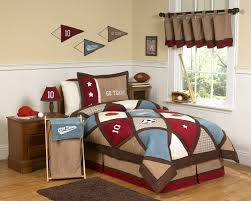 sports bedding for boys twin bed ktactical decoration brown red sports bedding full queen comforter set all star diamond