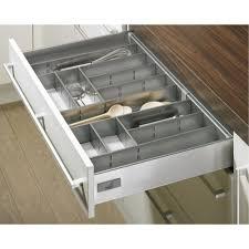range couverts tiroir cuisine range couverts gris innoplus pour tiroir de cuisine innotech bricozor