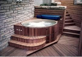 Chofu Wood Stove by Softub Tubs Amenity Round Cedar Tub Kit Salt Water Spas