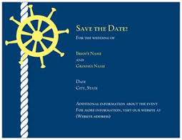 nautical save the date nautical invitations vistaprint