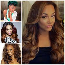Trendy Colors 2017 2017 Hair Color Ideas For Black Women Hairstyles 2018 New
