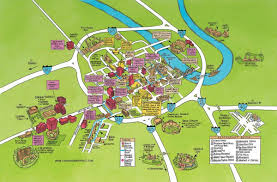 Map Of Usa Attractions by Map Of Nashville Attractions Nashville Map Of Attractions